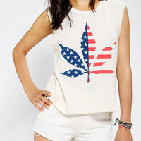 Urban Outfitters - Truly Madly Deeply American High Muscle Tee