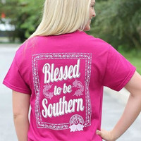 Southern Darlin' - Blessed To Be Southern Tee