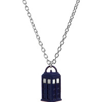 """Doctor Who 3D TARDIS 18"""" Necklace"""