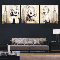 Marilyn Monroe poster movie modern wall pictures for living room canvas picture art painting home decor wall art canvas poster
