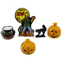 Dept 56 Accessories HALLOWEEN ACCESSORY SET Ceramic Village Halloween 53246