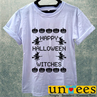 Happy Halloween Witches Women T Shirt