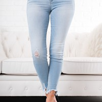 Pretty Fly Light Wash Jeans (Super Light)