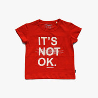 Imps and Elfs 'It's Not OK' Tee - 1150002 - FINAL SALE