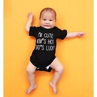 2017 New summer style cotton baby boys girls clothes short sleeve baby romper newborn letter bodysuits jumpsuit infant clothing