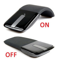 2.4GHz Arc Touch Wireless Optical Mouse Mice With USB Receiver For PC Laptop New (Size: 2) = 1706409988