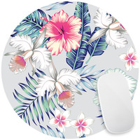 Honolulu Flowers Mouse Pad Decal