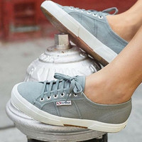 Superga Classic Sneaker - Grey Sage (one size 7 left)