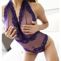 Sexy Lingerie Hot Sexy Lace Underwear Costumes Sleepwear Intimates Chemise Lingerie