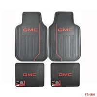 Licensed Official GMC Elite Car Truck Seat Covers / Floor Mats / Steering Wheel Cover / Keychain
