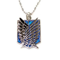 shingeki no kyojin attack on titan Crest of wings   Motif pendant Investigation army corps Necklace