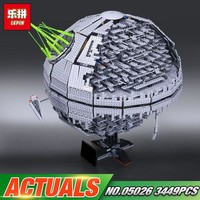 Star Wars Force Episode 1 2 3 4 5 DHL Lepin 05026  Toys  The 10143 second generation Death Model  Set Building Block Bricks Kids Toys Christmas Gifts AT_72_6