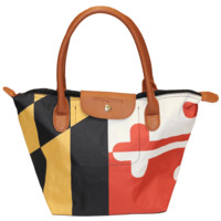 Maryland Flag / Canvas Handbag