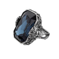 Alchemy Empire Britannia Blue Gem Ring