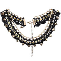 ROMWE | Adorned Golden Chain Necklace, The Latest Street Fashion