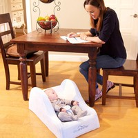 DayDreamer Powder Blue 310006654 | Infant Positioners | Play Yards Portable Beds | Baby Gear | Burlington Coat Factory