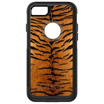 DistinctInk™ OtterBox Commuter Series Case for Apple iPhone or Samsung Galaxy - Yellow Black Tiger Fur Skin