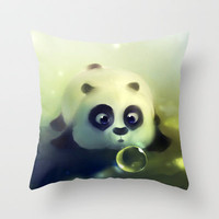 Dumpling Throw Pillow by Rihards Donskis