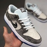 Nike SB Dunk LOW PRO low-top lace-up canvas sneakers shoes