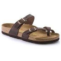 Women's Mayari Oiled Leather Sandal in Habana by Birkenstock