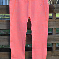 Activewear Leggings - Neon Coral