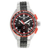 Invicta 18930 Men's S1 Rally Red Accented Bezel Two Tone Bracelet Chronograph Watch
