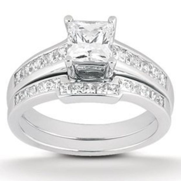 Reliable 1 1/2 Ct Round Cut D Vs2 Halo Diamond Solitaire Engagement Ring 14k White Gold Latest Technology Diamond Jewelry & Watches