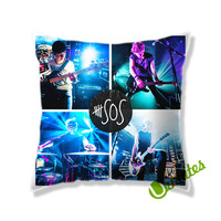 5SOS Square Pillow Cover