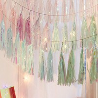 Studio Mucci Ocean Ombre Tassel Garland | Urban Outfitters