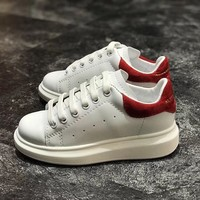 Alexander McQueen Girls Boys Children Baby Toddler Kids Child Fashion Casual Sneakers Sport Shoes