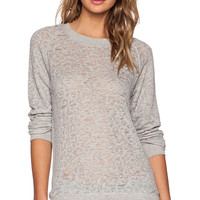 IRO . JEANS Gratful Sweatshirt in Light Gray