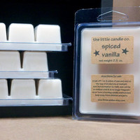 Soy Wax Melt Spiced Vanilla Scented Breakaway Soy by littlecandles