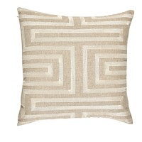 Labyrinth Pearl Embroidery Pillow