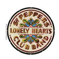 Beatles - Sgt Peppers Bumper Sticker on Sale for $2.99 at The Hippie Shop