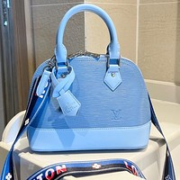 LV Louis Vuitton was born in water ripples, ladies shopping shell bags, shoulder bags, messenger bags
