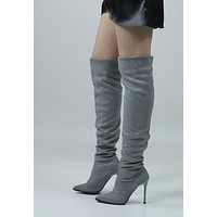 Secrets Out Knee High Boots