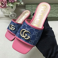 Dior GG G Women's Fashion Slippers Shoes