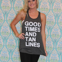 Good Times Graphic Tank