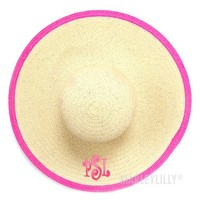 Monogrammed Derby Hat | Marley Lilly