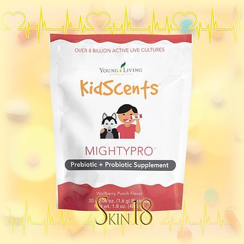 KidScents MightyPro Probiotic Supplement