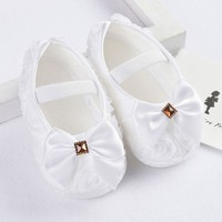 Newborn 3-15M Baby Girl Shoes First Walkers Lovely Sneakers Infant Kids Girls Princess Shoes