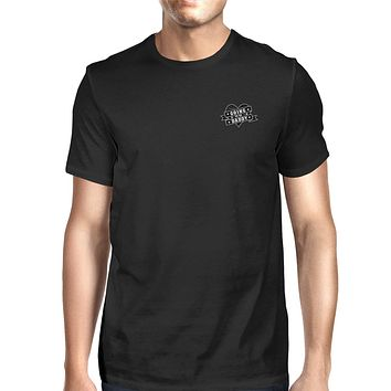 World's Best Dad Mens Black Graphic T-Shirt Cute Gifts For New Dad