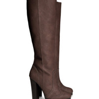 Knee-high boots - from H&M