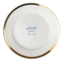Poetry Plates by Young & Battaglia for mineheart - Free Shipping