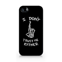 IPC-464 - I Don't Trust Me Either - Luke Hemmings T-Shirt - 5SOS - 5 Seconds of Summer - iPhone 4 / 4S / 5 / 5C / 5S / Samsung Galaxy S3
