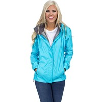 Preptec Rain Jacket in Glacier Blue by Lauren James