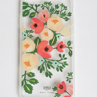 Clear Peach Blossom iPhone 6 Case By Rifle Paper Co.