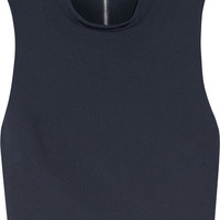 Elizabeth and James - Avita cropped stretch-ponte top