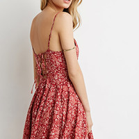 Floral Paisley Cami Dress