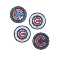 Chicago Cubs Golf Ball Markers (Set of 4)